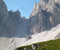 Dolomite mountain pass