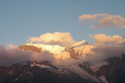 Mont Blanc Sunset
